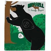 Morrell Targets Polypropylene Archery Target Face, Standing Bear