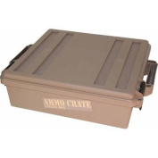 MTM ACR5-72 Ammo Crate Utility Box with 18cm Deep, Large, Dark Earth