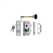 Perko Rim Lock Set, Reverse with Flush Strike
