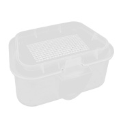 Outdoors Fishing Lure Bait Plastic Storage Case Keeper Clear
