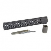 CmmG Handguard, 15 Slot, Keymod, Black