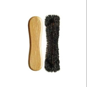 Standard Horsehair Pool Table Brush in Oak Finish