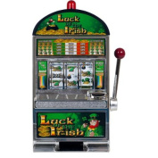 Luck of the Irish 38cm Slot Machine Bank