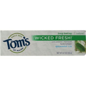 Toms Of Maine AY52781 Toms Of Maine Wicked Fresh! Spearmint Ice Toothpaste -6x140ml