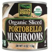 Native Forest B07905 Native Forest Organic Sliced Portobello Mushrooms -12x210ml