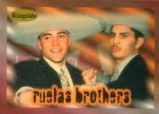 Autograph Warehouse 84380 Rafael Ruelas and Gabriel Ruelas Card Boxing 1996 Ringside No .41