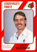 Autograph Warehouse 101701 Jeff Morrow Football Card Louisville 1989 Collegiate Collection No. 136