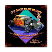Past Time Signs LG036 Good To Be Blown Automotive Vintage Metal Sign