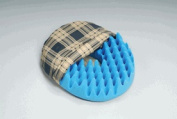 Convoluted Foam Softeze Ring 16. x 14 1/8 Plaid Cover