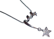 Star Necklace C48 Clear Crystal Luxury Plating Special