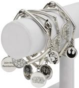 Star Wars Jewellery Episode 7 Rey Stainless Steel Charm Stretch Bracelet