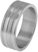 Doma Jewellery MAS03084-7 Stainless Steel Ring - Size 7
