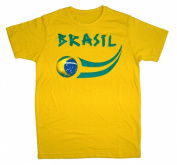 Supportershop WCBZ10Y Brasil Soccer Junior T-shirt 10-11 years