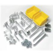 DIY Industries 50-1212 Pegboard Hooks - 26 piece Kit