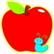 Carson Dellosa Apple Design Single Cutout Pack - 36