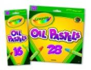 . Hexagonal Non-Toxic Jumbo Oil Pastel Stick Set - 1.1cm x 7.6cm . - Set 28