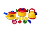 Learning Resources Pretend & Play Cookware Set 10 Piece