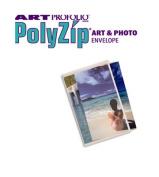 Itoya AZ-9-12 Art Profolio Polyzip Envelope - 23cm X 30cm .