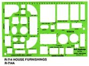 Art Supplies R714 House Furnishings Template
