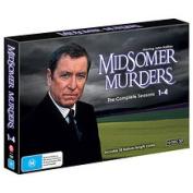 MIDSOMER MURDERS SEASON 1-4 COLLECTION [DVD_Movies] [Region 4]