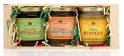 Pepper Creek Farms CRT-003 Savoury Sweet & Hot Gift Crate - Pack of 6