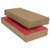 Deluxe Small Business Sales 51-110501C-8 11.5 x 14cm x 3.8cm . Two-Piece Apparel Boxes Kraft