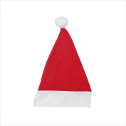 NorthLight 43cm . Adult Nw Promo Santa Hat With Extended Cuff Large
