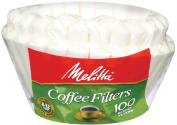 Melitta 629552 100 Count 8 To 12 Cup White Basket Coffee Filters