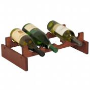 Wooden Mallet WR41MH 4 Bottle Dakota Wine Rack