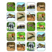 Teacher Created Resources TCR5468 Safari Animals Stickers