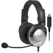 Koss Full-Size USB Communication Headset with Noise Reduction Microphone - SB45 USB