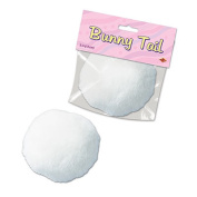 Beistle 40773 Plush Bunny Tail Pack Of 12