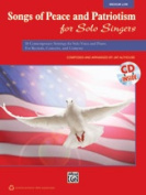 Alfred 00-38148 SONGS OF PEACE PAT SOL SNG-LO-BK & CD