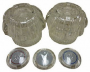 Homewerks 31-1203-BP Baypointe Replacement Acrylic 2 Handle