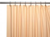Carnation Home Fashions USC-4-30 4 Gauge Vinyl Shower Curtain Liner Peach