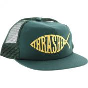 Thrasher Fish Green / Gold Adjustable Mesh Hat