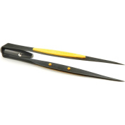 General Tools & Instruments 70401 Smooth Pointed Tip Lighted Tweezers
