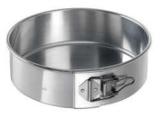 Chicago Metallic 40409 Aluminium 23cm x 7.6cm Spring Form Cake Pan