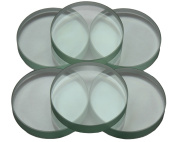 Glass Fermentation Weights for Lacto Fermenting in Wide Mouth Mason, Ball, Canning Jars, 6 Pack