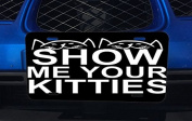 Show Me Your Kitties Cat Aluminium Licence Plate for Car Truck Vehicles