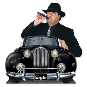 Beistle Gangster Car Photo Property, 9.5cm by 60cm , Multicolor