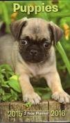 1 X Puppies 2015-2016 2 year planner