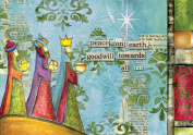 Lang Perfect Timing - Artisan Peace On Earth Petite Christmas Cards, 12 Cards with 13 Envelopes
