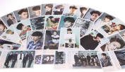 Fanstown EXO postcard with lomo cards