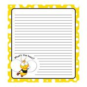 Carson Dellosa Buzz-Worthy Bees Notepad