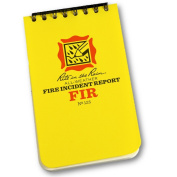 1 X Field Book, Fire Incident Report Form