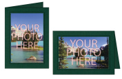Photographer's Edge, Photo Insert Card, Pine Linen with Single Border, Set of 10 for 4x6 Photos
