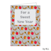 Jewish New Year Card Package - 8 Cards & Envelopes