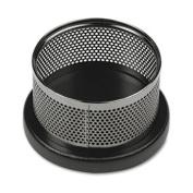 Eldon Office Products E22625 Distinctions Paper Clip Holder 3 7/8 x 4 1/8 x 2 3/8 Metal/Black
