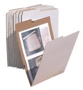 Advanced Organising 13 W x .25 D x 19 H in. AOS Office School Flat Storage File 19 Folders Pack 10